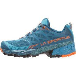 La Sportiva AKYRA Obuwie do biegania Szlak ocean/flame. Zielone buty do biegania męskie La Sportiva, z gumy. Za 649,00 zł.