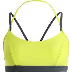 Stroje kąpielowe damskie: Speedo ULTRA FIZZ SPORT BRA  Góra od bikini lime punch/oxid grey