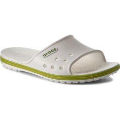 Klapki damskie: Klapki CROCS - Crocband II Slide 204108 White/Wolt Green