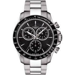 PROMOCJA ZEGAREK TISSOT V8 T106.417.11.051.00. Czarne zegarki męskie TISSOT, ze stali. W wyprzedaży za 1654,41 zł.