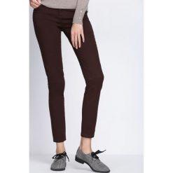 Spodnie damskie: Bordowe Spodnie One More Night