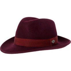 Menil BOLOGNA Kapelusz bordeaux. Czerwone kapelusze damskie Menil, z materiału. W wyprzedaży za 230,30 zł.