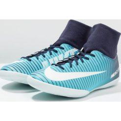 Nike Performance MERCURIALX VICTORY 6 DF IC Halówki thunder blue/glacier blue/gamma blue. Niebieskie buty skate męskie Nike Performance, z gumy, do piłki nożnej. W wyprzedaży za 209,25 zł.