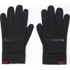 Akcesoria męskie: Rękawiczki - Czarny
