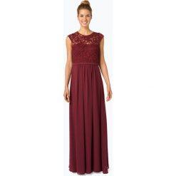 Marie Lund - Damska sukienka wieczorowa, czerwony. Czerwone sukienki balowe Marie Lund, z haftami, z szyfonu. Za 499,95 zł.