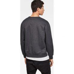 G-Star Raw - Bluza. Czarne bluzy męskie rozpinane marki G-Star RAW, l, z nadrukiem, z bawełny, bez kaptura. Za 349,90 zł.