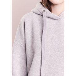Odzież damska: CLOSED WOMENS TOP Bluza z kapturem light grey melange