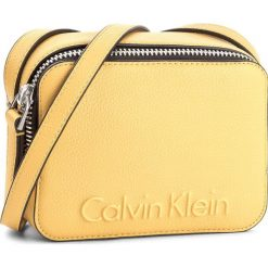 Listonoszki damskie: Torebka CALVIN KLEIN BLACK LABEL - Edge Small Crossbody K60K604004  618