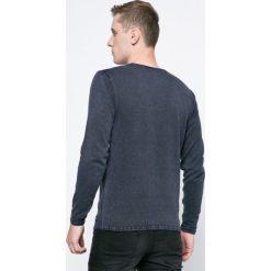 Only & Sons - Sweter. Szare swetry klasyczne męskie marki Only & Sons, m, z bawełny, z okrągłym kołnierzem. W wyprzedaży za 79,90 zł.