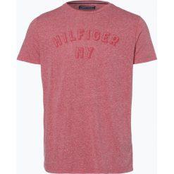 Tommy Hilfiger - T-shirt męski, czerwony. Szare t-shirty męskie marki TOMMY HILFIGER, z bawełny. Za 129,95 zł.