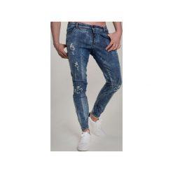 Jeans BLACK BULLET 2. Niebieskie rurki męskie marki Guns&tuxedos, z jeansu. Za 699,00 zł.