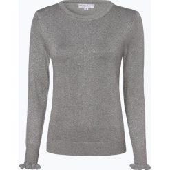 Marie Lund - Sweter damski, szary. Fioletowe swetry klasyczne damskie marki Reserved, z falbankami. Za 129,95 zł.