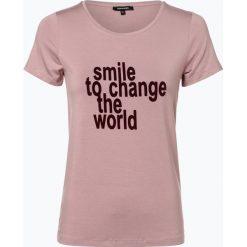 More & More - T-shirt damski, różowy. Czerwone t-shirty damskie More & More, z nadrukiem. Za 119,95 zł.