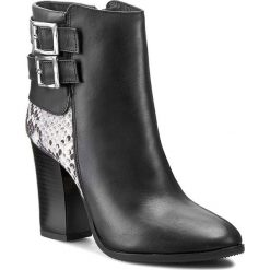 Botki OLEKSY - 250 575/388. Szare buty zimowe damskie marki Oleksy, ze skóry. W wyprzedaży za 269,00 zł.