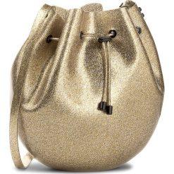 Torebka MELISSA - Sac Bag 34122 Glass Gold Glitter 03586. Żółte torebki worki Melissa, w geometryczne wzory, z tworzywa sztucznego. Za 499,00 zł.