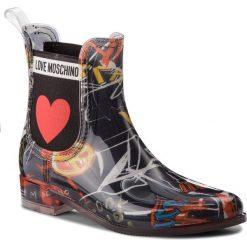 Kalosze LOVE MOSCHINO - JA21013G16IO0000 St Graff Ne. Szare buty zimowe damskie marki Love Moschino, z materiału. Za 559,00 zł.