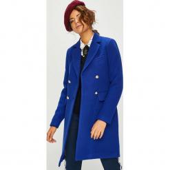 Morgan - Płaszcz. Niebieskie płaszcze damskie Morgan, z materiału, klasyczne. Za 579,90 zł.