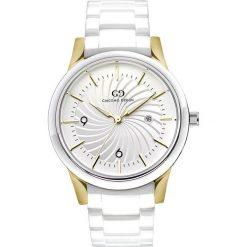 Zegarek Giacomo Design Ceramiczny damski  GD10002. Szare zegarki damskie Giacomo Design, ceramiczne. Za 435,00 zł.