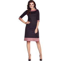 Odzież damska: Sukienka Awama w kolorze czarno-różowym