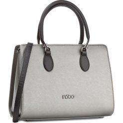 Torebka NOBO - NBAG-D2670-C025 Gun Z Czarnym. Szare torebki klasyczne damskie Nobo, ze skóry ekologicznej. W wyprzedaży za 149,00 zł.