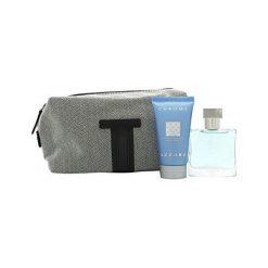 Kosmetyczki męskie: Azzaro Chrome Zestaw dla mężczyzn  EDT 30ml + 50ml Żel pod prysznic + Kosmetyczka