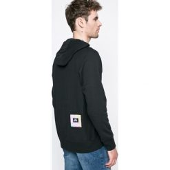Nike Sportswear - Bluza. Czarne bluzy męskie rozpinane Nike Sportswear, m, z aplikacjami, z bawełny, z kapturem. W wyprzedaży za 269,90 zł.