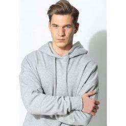 Szara Bluza Don't Sweat. Czarne bluzy męskie rozpinane marki Born2be, l, z aplikacjami, z dresówki. Za 119,99 zł.