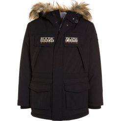 Napapijri SKIDOO OPEN LONG Kurtka zimowa black. Niebieskie kurtki chłopięce zimowe marki Napapijri, z bawełny. W wyprzedaży za 975,20 zł.