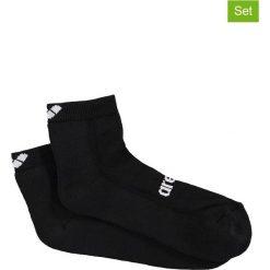 Skarpetki damskie: Skarpety (2 pary) w kolorze czarnym