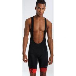 Gore Wear OPTILINE Krótkie spodenki sportowe black/red. Czerwone bermudy męskie Gore Wear, z elastanu, sportowe. Za 419,00 zł.