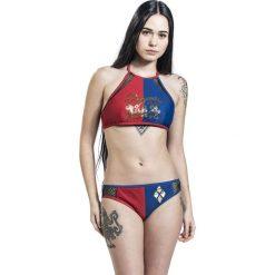 Suicide Squad Harley Quinn - Property of Joker Bikini czerwony/niebieski. Czerwone bikini Suicide Squad, w koronkowe wzory. Za 62,90 zł.