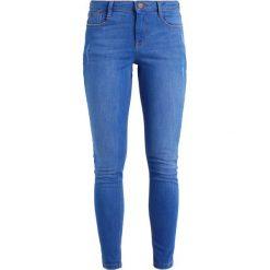 Dorothy Perkins HARPER Jeansy Slim Fit bright blue. Niebieskie jeansy damskie marki Dorothy Perkins, z bawełny. Za 139,00 zł.