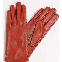 Skórzane rękawiczki - Czerwony. Brązowe rękawiczki damskie marki Roeckl. Za 79,99 zł.