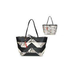 Torby shopper Desigual  BOLS_SNAKE COLOR PATCH CAPRI. Czarne shopper bag damskie Desigual. Za 329,30 zł.