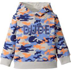 Bluza z kapturem bonprix kobaltowy moro. Niebieskie bluzy chłopięce rozpinane marki bonprix, m, moro, z kapturem. Za 52,99 zł.