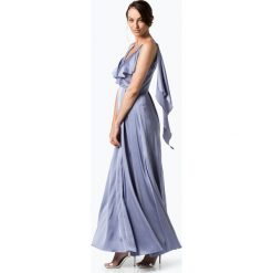 Marie Lund - Damska sukienka wieczorowa, niebieski. Czarne sukienki koktajlowe marki Jestes Modna, na imprezę, s, w koronkowe wzory, z bawełny, z dekoltem na plecach, ołówkowe. Za 349,95 zł.