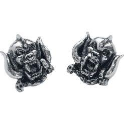 Motörhead Warpig Kolczyki - Earpin srebrny. Szare kolczyki damskie Motörhead, srebrne. Za 74,90 zł.