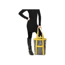 HOBO AIR torba z osłoną z wytrzymałej folii. Żółte shopper bag damskie Boogie, z poliesteru. Za 198,00 zł.