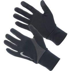 Rękawiczki męskie: Nike Rękawiczki męskie Dri-fit Tailwind Run Gloves czarno-szare r. L