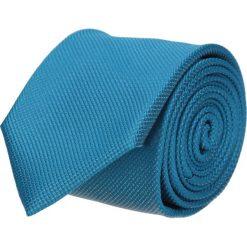 Krawaty męskie: krawat platinum turkus classic 201