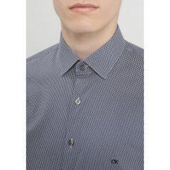 Calvin Klein STRETCH SLIM FIT Koszula blue. Pomarańczowe koszule męskie slim marki Calvin Klein, l, z bawełny, z okrągłym kołnierzem. Za 359,00 zł.