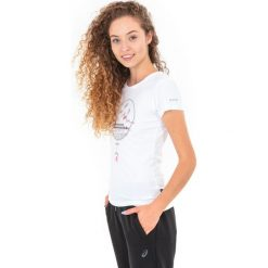 Hi-tec Koszulka damska LADY WILMA white r. L. Białe topy sportowe damskie Hi-tec, l. Za 32,14 zł.