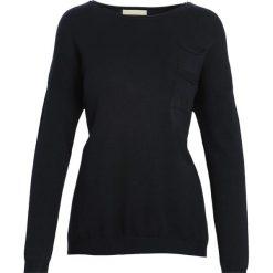 Czarny Sweter Lovely Eyes. Czarne swetry klasyczne damskie marki Born2be, na jesień, l. Za 39,99 zł.