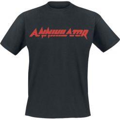 Annihilator Logo T-Shirt czarny. Czarne t-shirty męskie Annihilator, m. Za 74,90 zł.