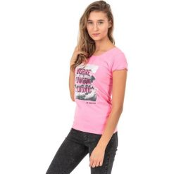 4f Koszulka damska H4Z17-TSD002 różowa r. M. Czerwone topy sportowe damskie 4f, m. Za 19,40 zł.
