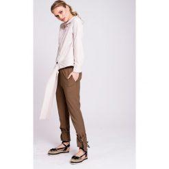 Naoko - Koszula Santa Lucia X Edyta Górniak. Szare koszule wiązane damskie marki NAOKO, l, z bawełny, casualowe, z długim rękawem. W wyprzedaży za 159,90 zł.