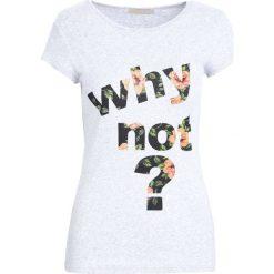 T-shirty damskie: Szary T-shirt Shadows of dreams