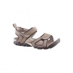 Sandały turystyczne Arpenaz 50 męskie. Brązowe sandały męskie QUECHUA, z gumy. Za 54,99 zł.