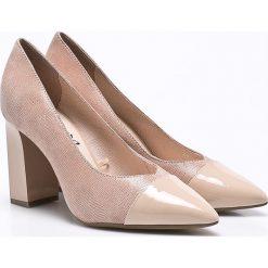 Buty ślubne damskie: Caprice - Czółenka