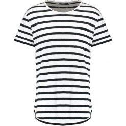 T-shirty męskie z nadrukiem: Tigha LENO STRIPES Tshirt z nadrukiem black/white